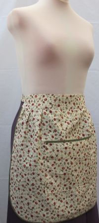 L120 SGX - LARGE POCKET HALF APRON